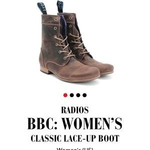 Fluevog BBC Women's Lace Up Boots size 10.5